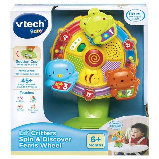 VTech Lil' Critters Spin & Discover Ferris Wheel - 80165900
