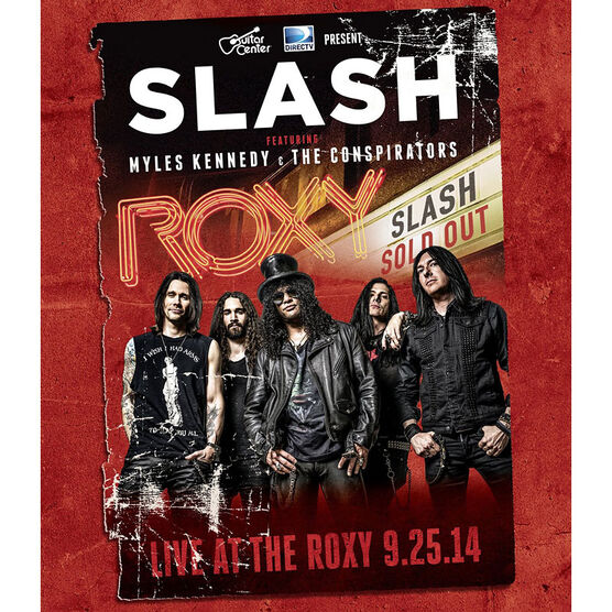 Slash: Live at the Roxy - DVD