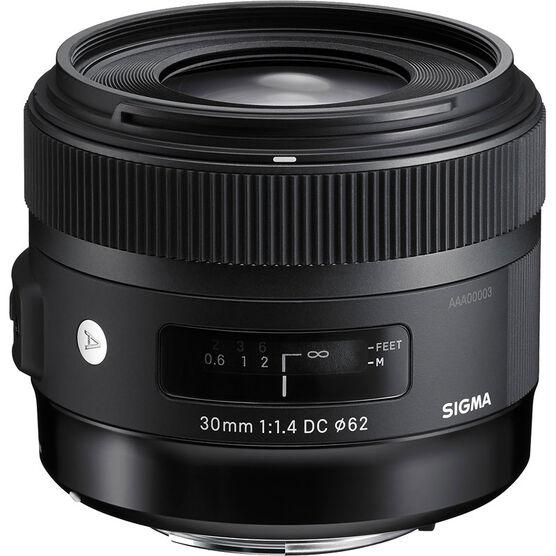 Sigma Art 30mm F1.4 DC HSM Lens for Nikon - A30DCHN