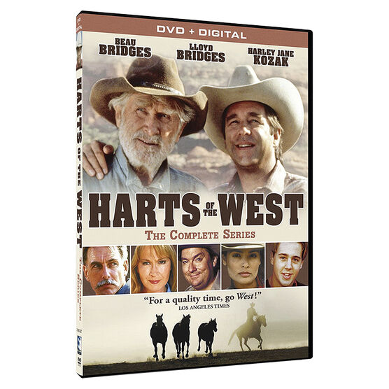 Harts of the West: The Complete Series - DVD