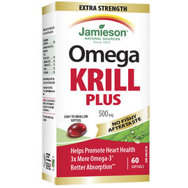 Jamieson Omega Krill Plus - 500mg - 60's