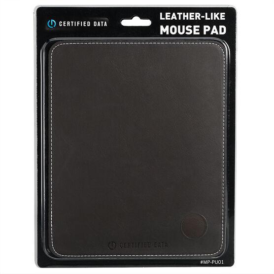 Certified Data Leather-Like Mousepad - MP-PU01