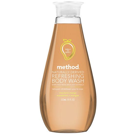 Method Refreshing Body Wash - Mandarin Mango - 532ml