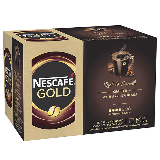 Nescafe Gold - 12 pack
