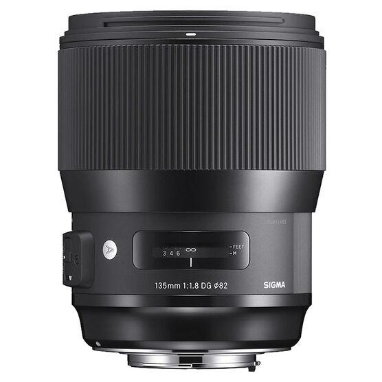 Sigma Art 135mm F1.8 DG HSM Lens for Canon - A135DGHC