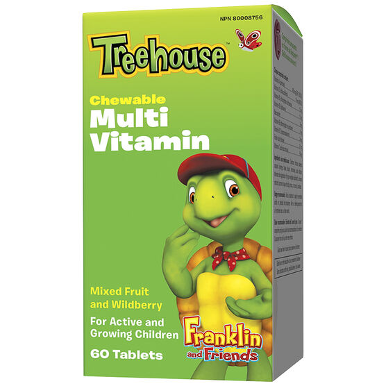 Treehouse Multivitamins - Mixed Fruit and Wildberry - 60's