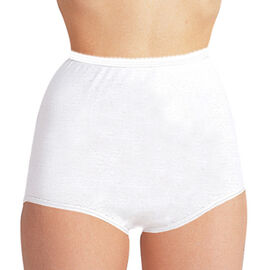 Silvert's Women's Cotton Band Leg Briefs - Small - XL