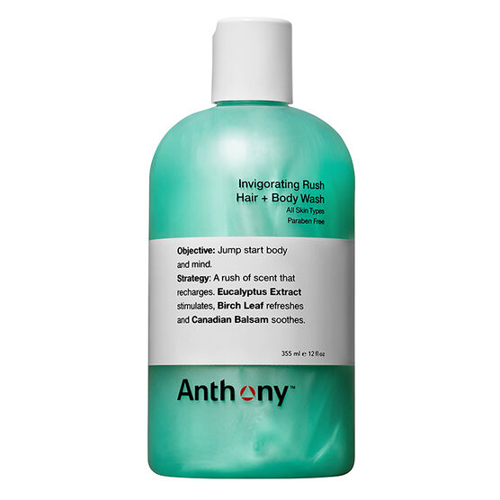 Anthony Invigorating Rush Hair & Body Wash - 355ml
