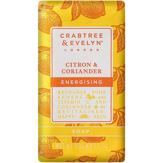 Crabtree & Evelyn Citron & Coriander Energising Soap - 158g