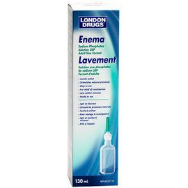 London Drugs Adult Enema Solution 130ml