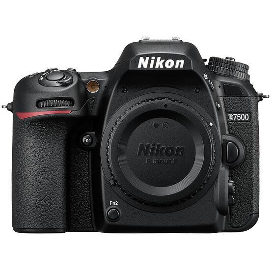Nikon D7500 Body - Black - 33719