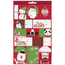 Christmas Gift Tag Book