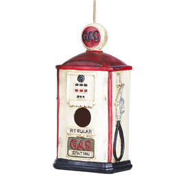 London Drugs Garden Birdhouse - Gas Station