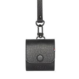 Decoded AirPod Leather Case - Black - DCD8APC1BK