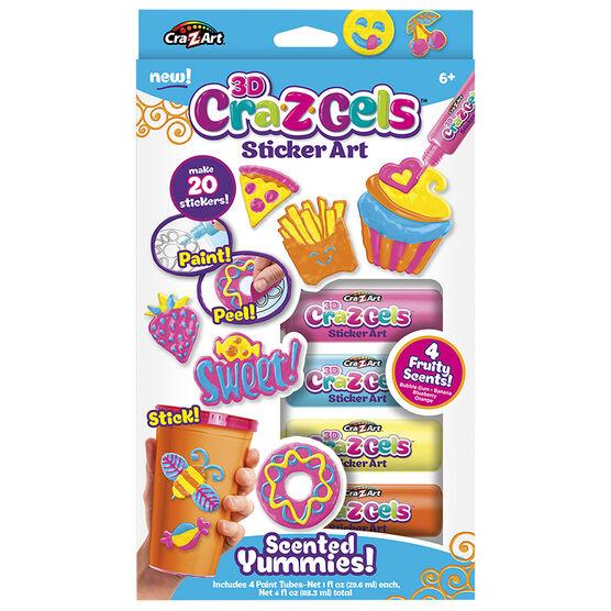 CRA-Z-GELS Yummies Scented 3D Sticker Art