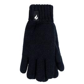 Heat Holders Boys Gloves - Black