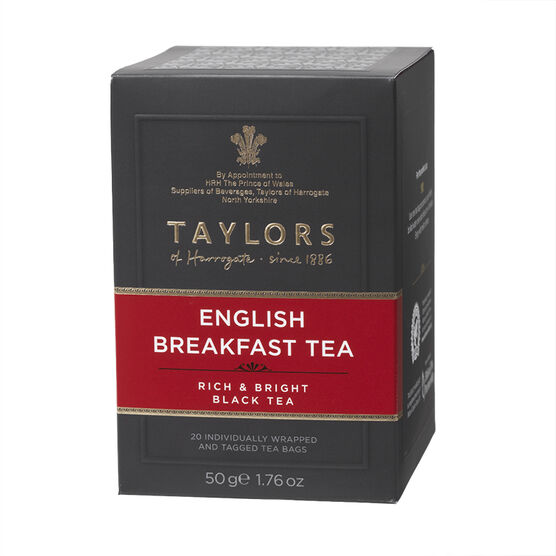 Taylors of Harrogate Tea - English Breakfast - 20's