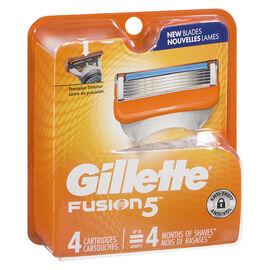 Gillette Fusion5 Cartridges - 4s