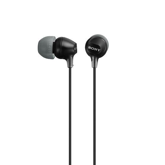 Sony EX15 In-Ear Headphones - Black - MDREX15LPB