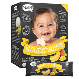 Nosh Baby Munchables - Banana + Mango - 54g/26 Wafers