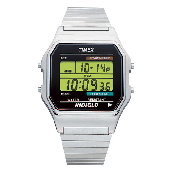 Timex Classic Digital Watch - Silver - T78587GP