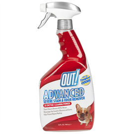 OUT! Advanced Stain/Odour Remover - 945ml