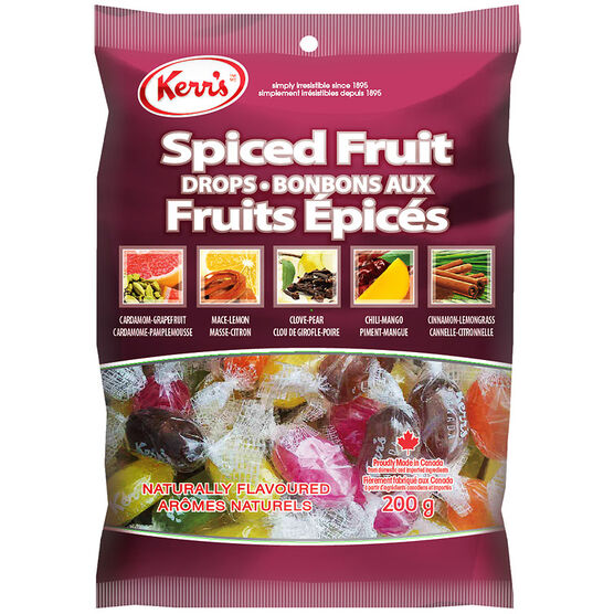 Kerr's Spiced Fruit Drops - 200g