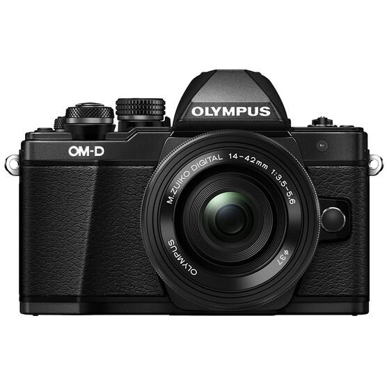Olympus OM-D E-M10 Mark II with 14-42mm EZ Power Zoom Lens