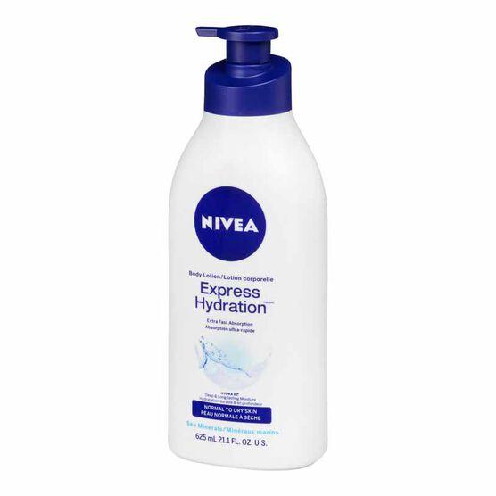 Nivea Express Hydration Body Lotion - 625ml