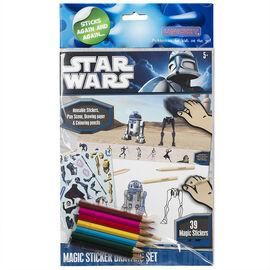 Star Wars - Magic Stickers Drawing Set