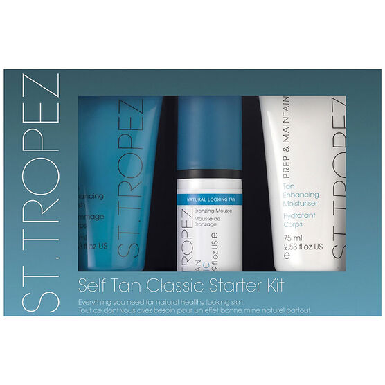 St. Tropez Self Tan Classic Starter Kit - 3 piece