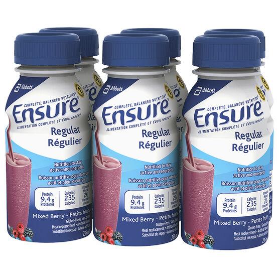 Ensure - Mixed Berry - 6 x 235ml
