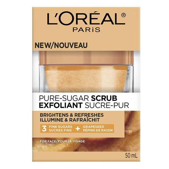 L'Oreal Pure-Sugar Scrub - Brightens & Refreshes - 50ml