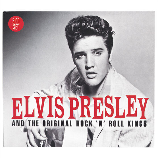 Elvis Presley - Elvis Presley and the Originial Rock 'n' Roll Kings - 3 CD