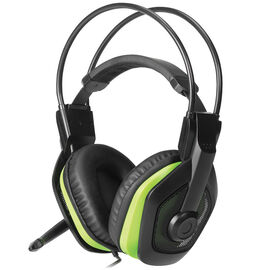 Certified Data Gaming Headset with Microphone - Black - SR-1140