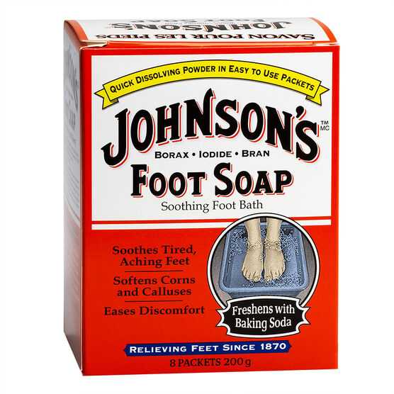 Johnson's Foot Soap - 200g