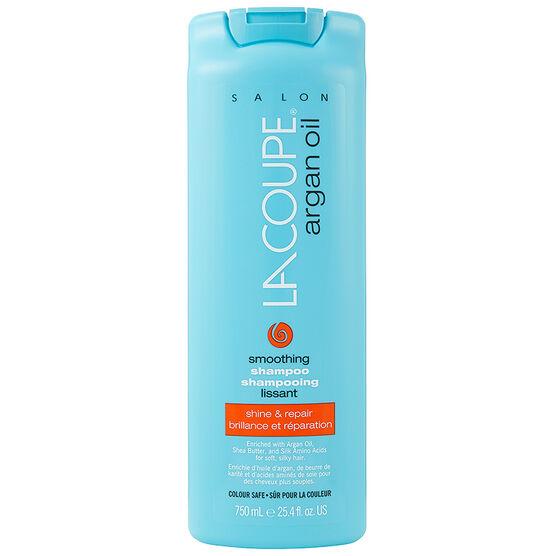 LaCoupe Argan Oil Shampoo - Smoothing - 750ml