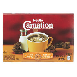 Nestle Carnation - Hot Chocolate - 10x25g