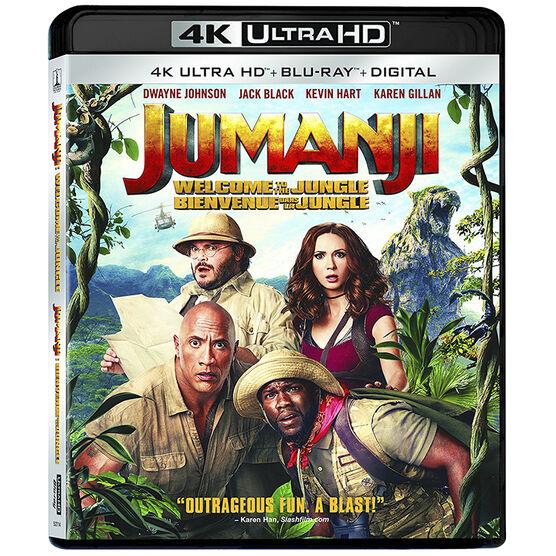Jumanji: Welcome to the Jungle - 4K UHD Blu-ray