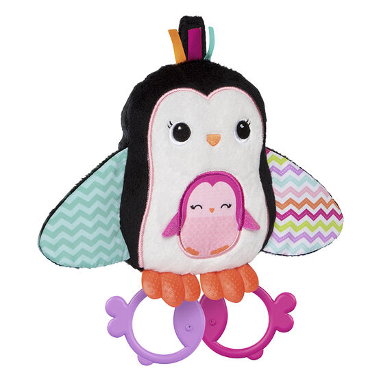 Bright Starts Cuddle and Teethe Penguin