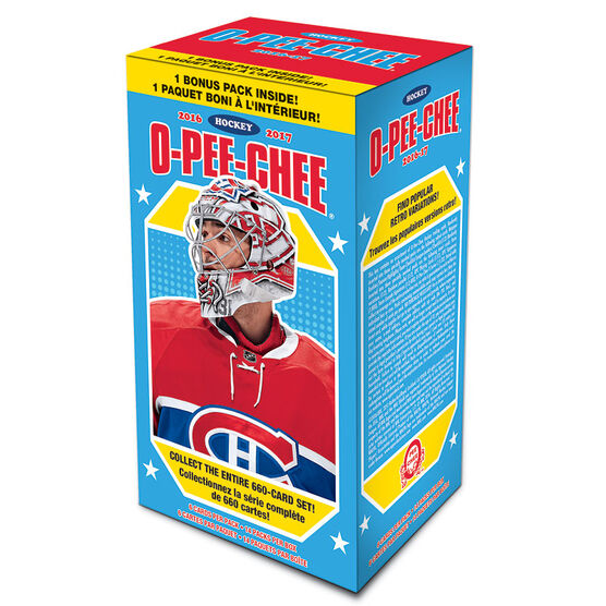 O-Pee-Chee 2016/2017 Hockey Blaster Pack