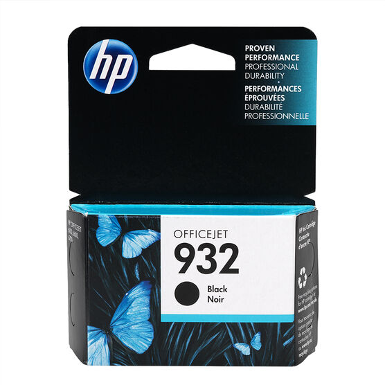 HP 932 Officejet Ink Cartridge - Black- CN057AC#140