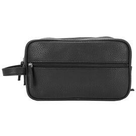 R70 Square Genuine Leather Travel Kit - Black - R7040902