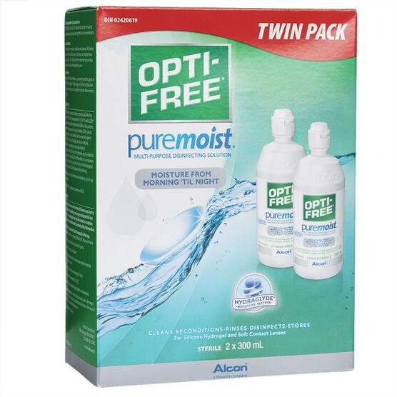 Alcon Opti-Free PureMoist Multi-Purpose Disinfecting Solution - 2 x 300ml