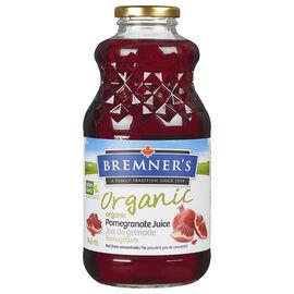 Bremner's Organic Pomegranate Juice - 946ml
