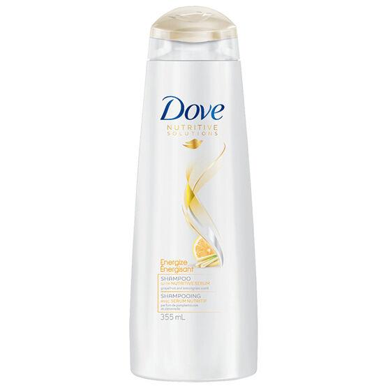 Dove Nutritive Solutions Energize Shampoo - Grapefruit & Lemongrass - 355ml