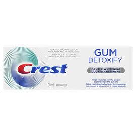 Crest Gum Detoxify Toothpaste - Gentle Whitening - 90ml