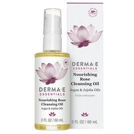 Derma E Essentials Nourishing Rose Cleansing Oil - 60ml