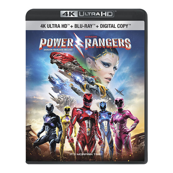 Saban's Power Rangers - 4K UHD Blu-ray