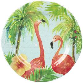 London Drugs Melamine Salad Plate - Flamingo - 9in